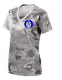 JL11 Ladies V-Neck Camo T-Shirt