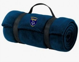 LYSC Fleece Blanket w/Embroidered LYSC logo