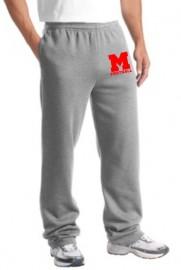 Melrose Football Jerzee Sweatpants w/Melrose Football Logo