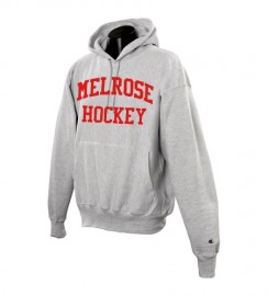 Melrose YH Sports Grey Heavyweight Hooded Sweatshirt