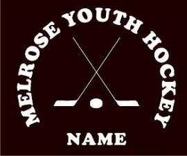 Melrose YH Cross Sticks Window Decal