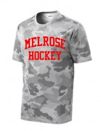 Melrose Youth Hockey Camo T-Shirt