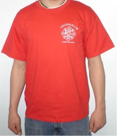 SFD Red Support Our Troops Short Sleeve T-Shirt